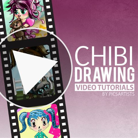 chibi drawing video tutorials