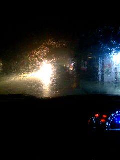 cars bokeh photography rain