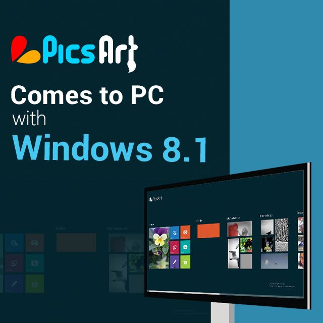 picsart available on windows 8.1