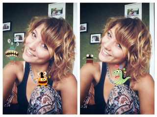 collage pets & animals monsters selfie