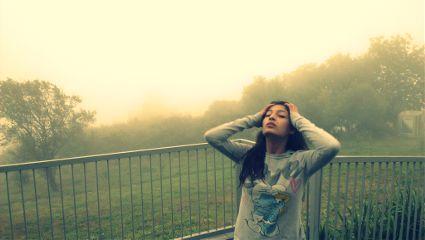mountain summer fog travel armenia
