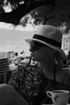 black & white holiday people photography summer