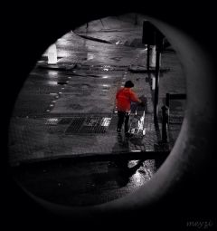 people photography rain travel monochrome
