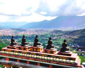 whitegumba kathmandu nepal buddha