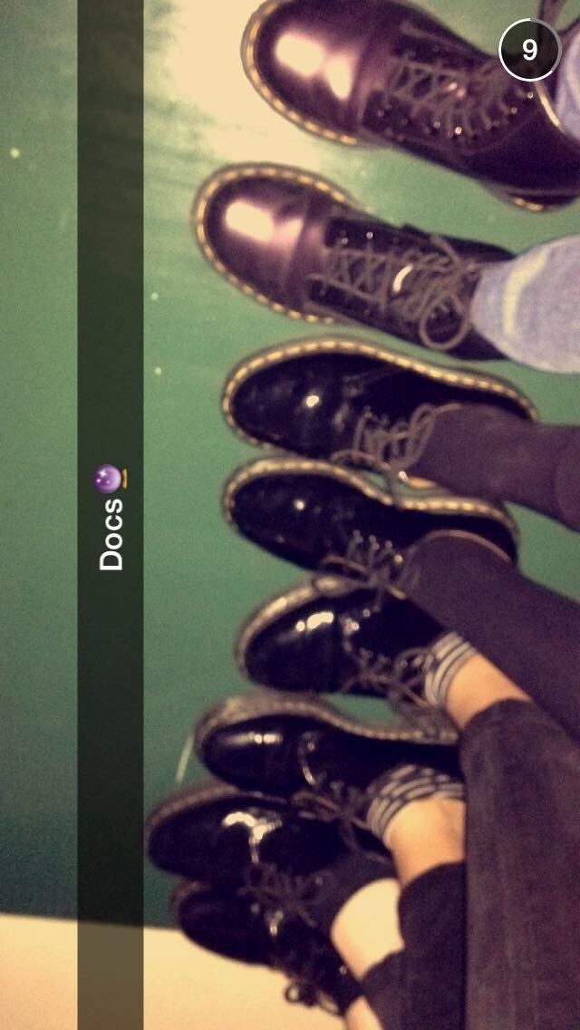 dm girls shoes