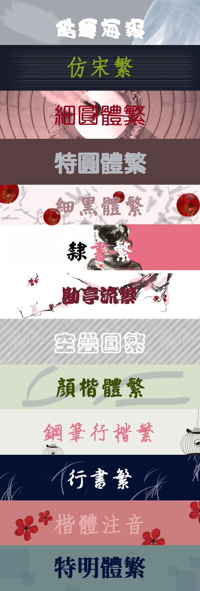 Chinese Simplified Fonts