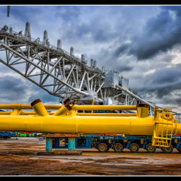 photography colorful industrial yellow