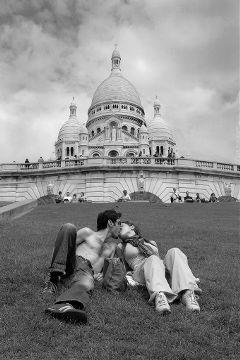 waploveportrait kiss paris love france