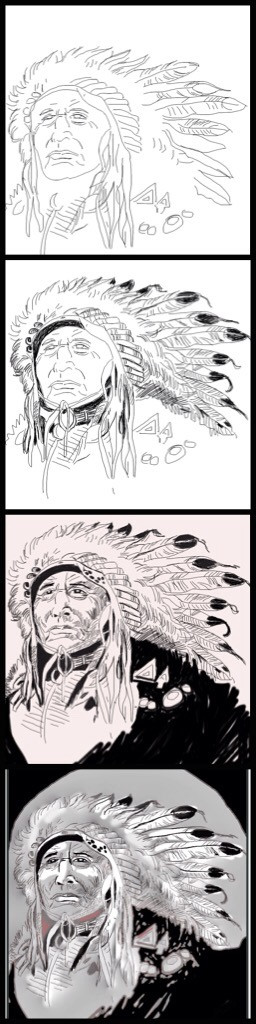 The making  of Big Chief ....