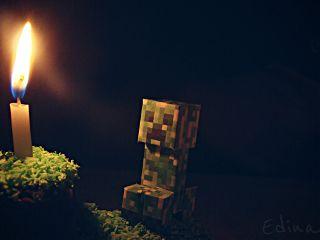 birthday minecraft cake cute emotions