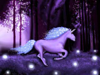 dcunicorn unicorn fantasy magic forest