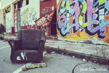 color street photography abandoned urban