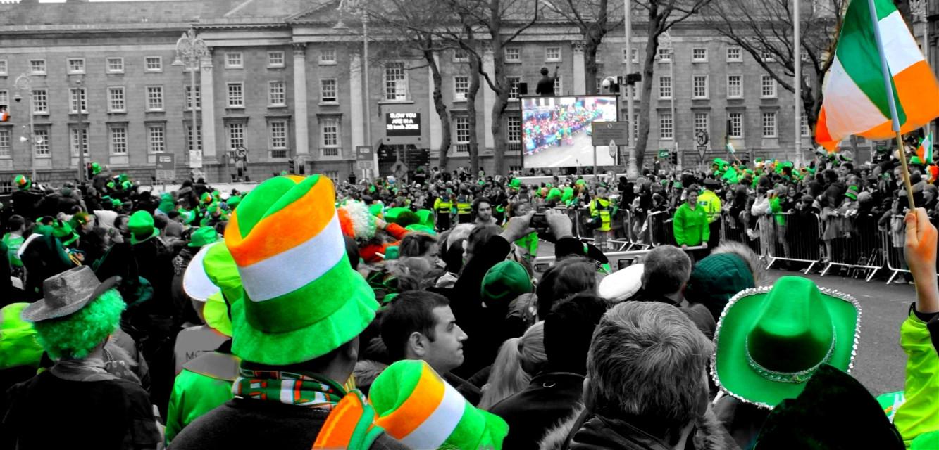 #wapgreen St.Patrick Day Celebrations, Dublin #ireland (of course!)